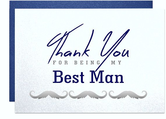 Thank You For Being My Best Man Card Best Man Thank You Cards Wedding Party Cards Best Man Gift Note Cards Wedd Wedding Party Cards Wedding Cards I Am Awesome