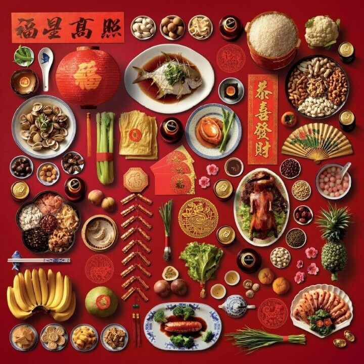 Chinese New Year traditions Every item has a symbolic