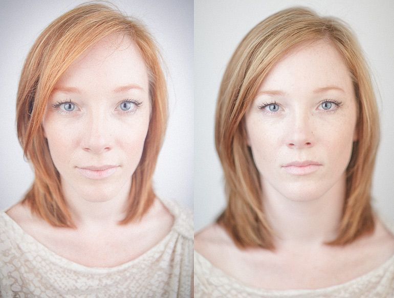 Impact Of Focal Length Lenses On Portraits On The Left Is A - How focal lengths can change the shape of your face