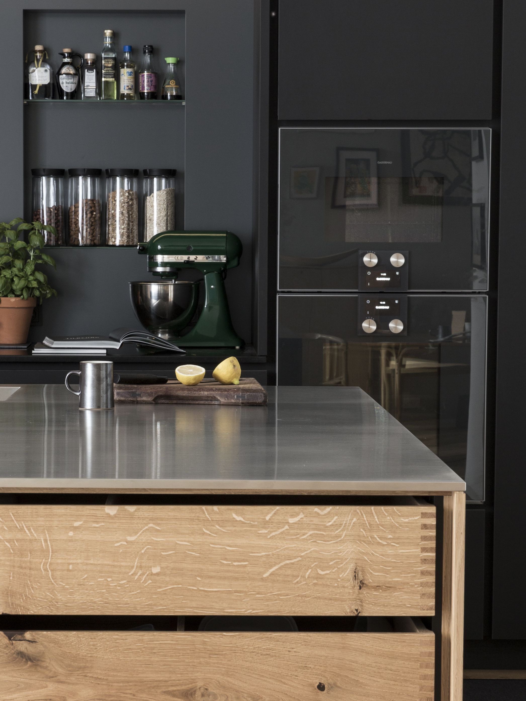 Kitchen of the Week A Culinary Space in Copenhagen by Garde Hvals¸e