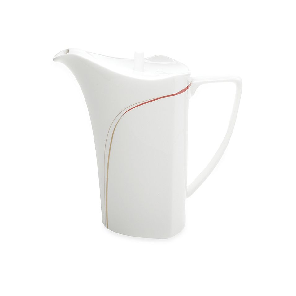 Mikasa Modernist Red Coffee Server White/red #coffeeserver