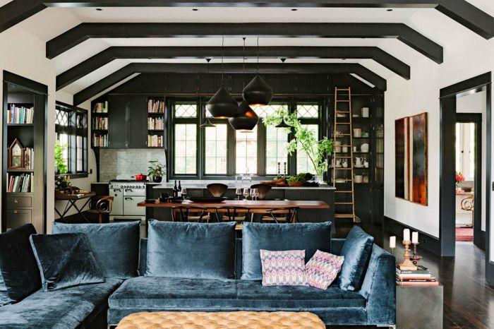 ▷ 1001 + ideas sobre cómo decorar un salón comedor   Salon comedor ...