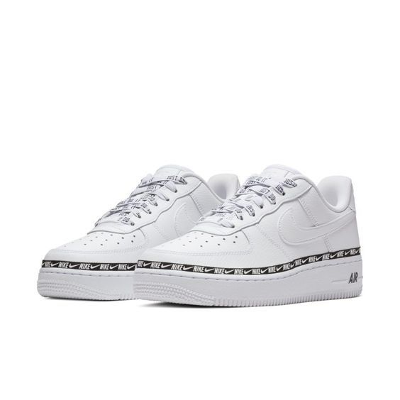 Nike Air Force 1  07 SE Premium Overbranded Women s Shoe - White ... 030f2dfce