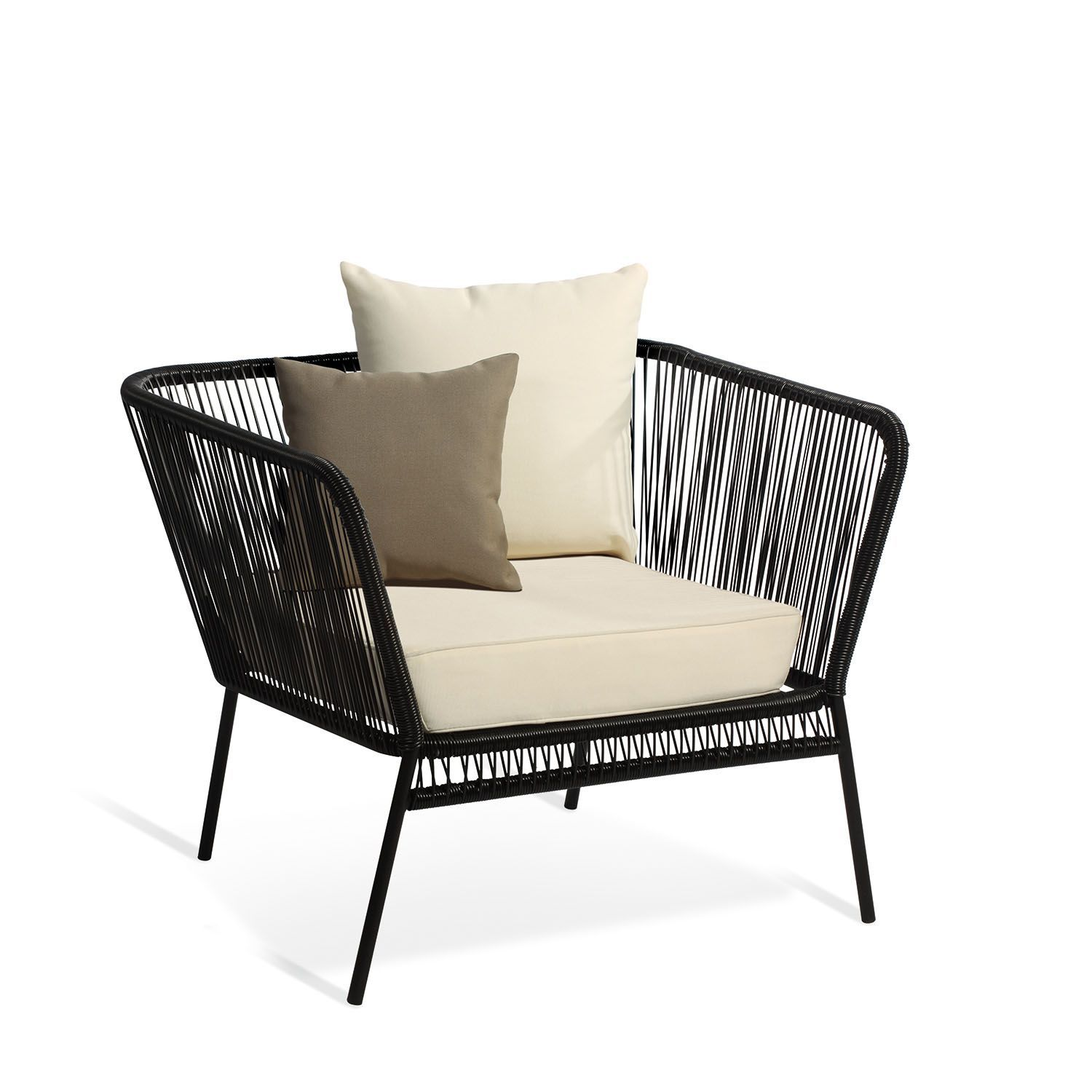 Modern classic armchair - Armchair 1 Place With Cushions Mexico Chairs Design Icon Acapulco Modern Classicchair