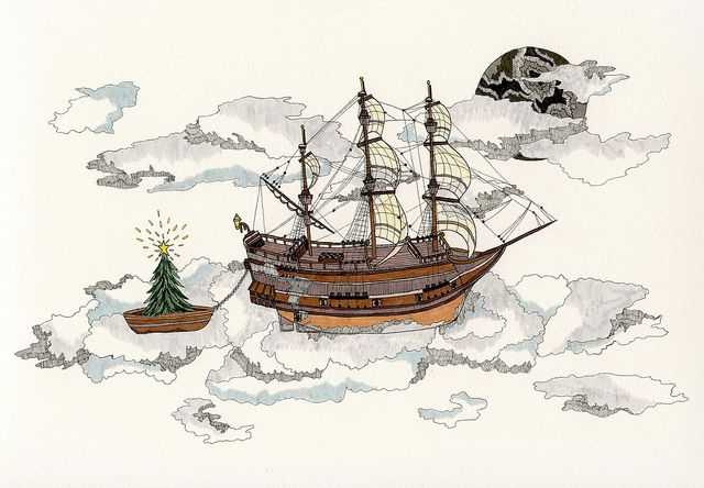 Sailing Home for Christmas by Anna Jane Searle