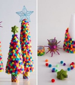 6 rboles de navidad para espacios peque os la ni a - Manualidades de navidad para ninos pequenos ...