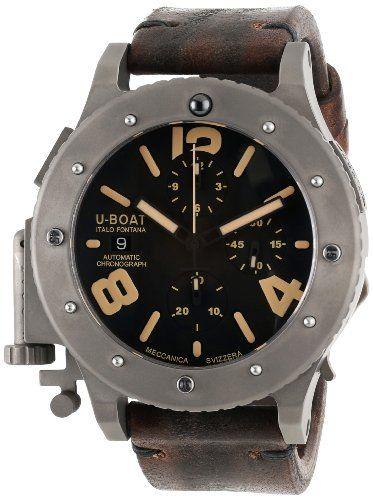 U-Boat Men's 6472 U-42 Analog Display Swiss Automatic Brown Watch U-Boat,http://www.amazon.com/dp/B00FWLZ81S/ref=cm_sw_r_pi_dp_Eht3sb1DM4WQN4J9