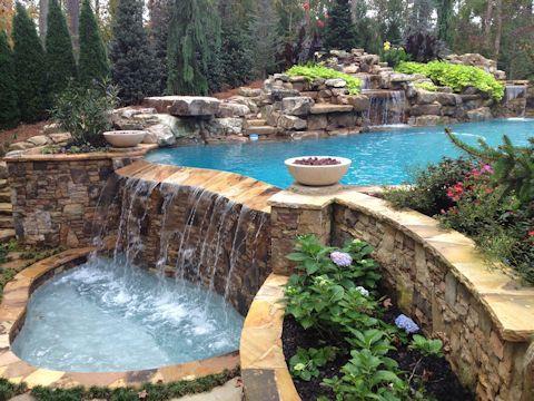 Infinity Pool Designs reverse infinity edge spa - google search | poolishious
