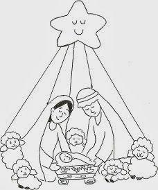 Presepios Presepio De Natal Desenho De Natal Paginas Para