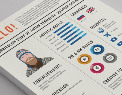 Consulter ce projet @Behance  « Curriculum Vitae » https\/\/www - check my resume