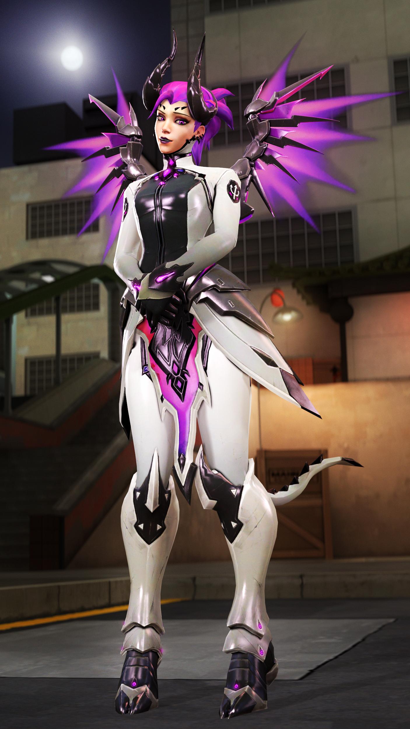 Overwatch Mercy Imp