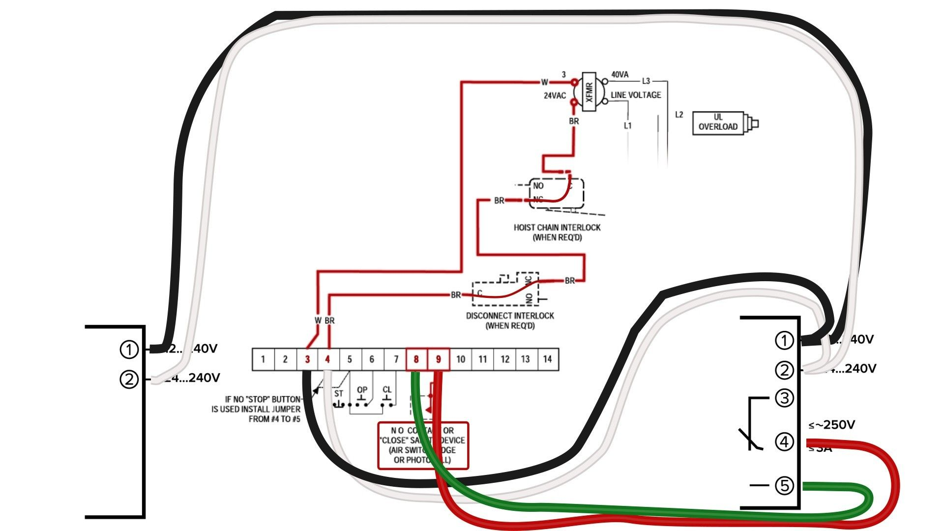 Unique Wiring Diagram Garage Door Sensor Diagram Diagramsample Diagramtemplate Wiring Garage Doors Garage Door Opener Troubleshooting Electric Garage Doors