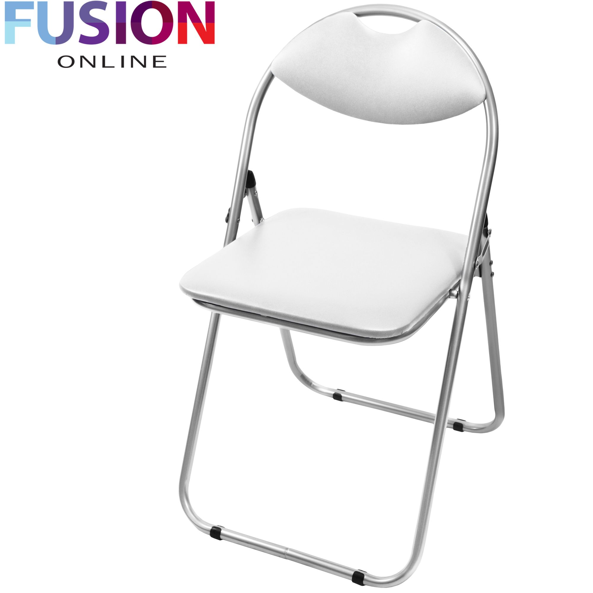 Furniture Leather Office Chair Reception Desk Chairs Foldable Backrest Chair