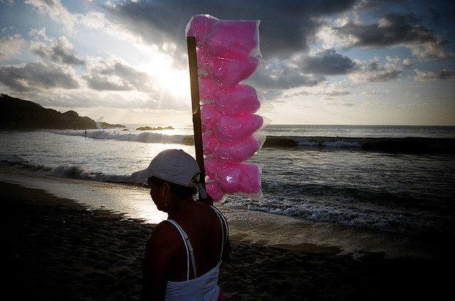 Cotton Candy on Playa Zicatela by Matthew Burpee, via Flickr