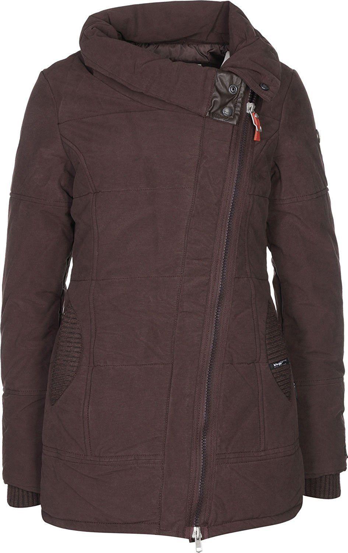 Khujo mantel braun