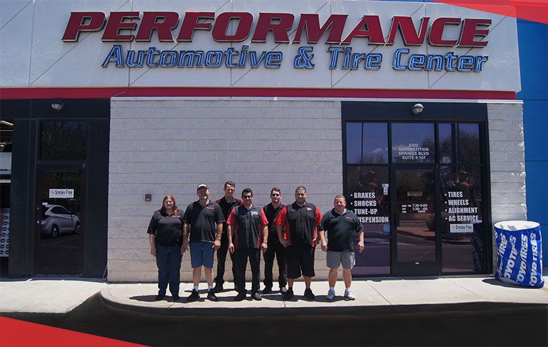 Quality Auto Repair In Mesa Az Performance Auto And Tire Is A Highly Trusted And Reviewed Auto And Tire Repair Shop I Automotive Care Tire Repair Auto Repair