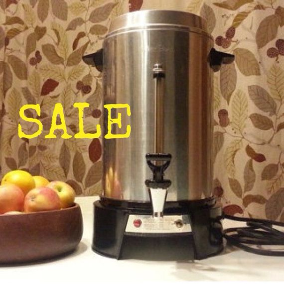 Sale Vintage West Bend 55 Cup Coffee Maker By Atomicvault On Etsy 16 00 Vintage Kitchen Gadgets Instagram Sales House Warming Gifts