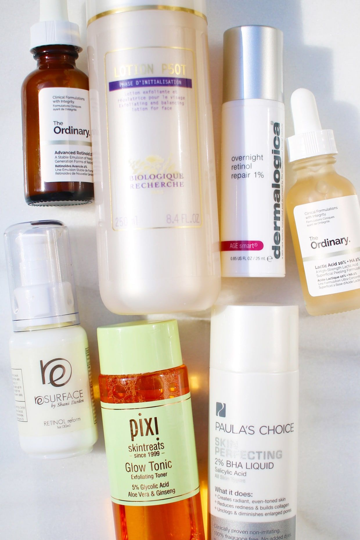 The Right Way To Layer An Aha Or Bha And Retinol In Your Skincare Routine Retinol Skin Care Skin Care Routine