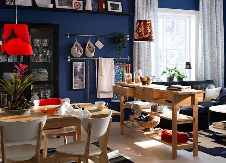 Family Room Ideas IKEA | Thu, Jul 30, 2009 | Dining room designs ...