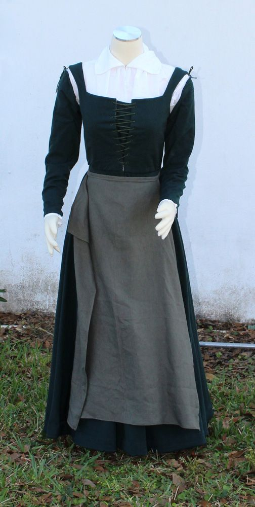 Image result for english kirtle 16th century | Elizabethan