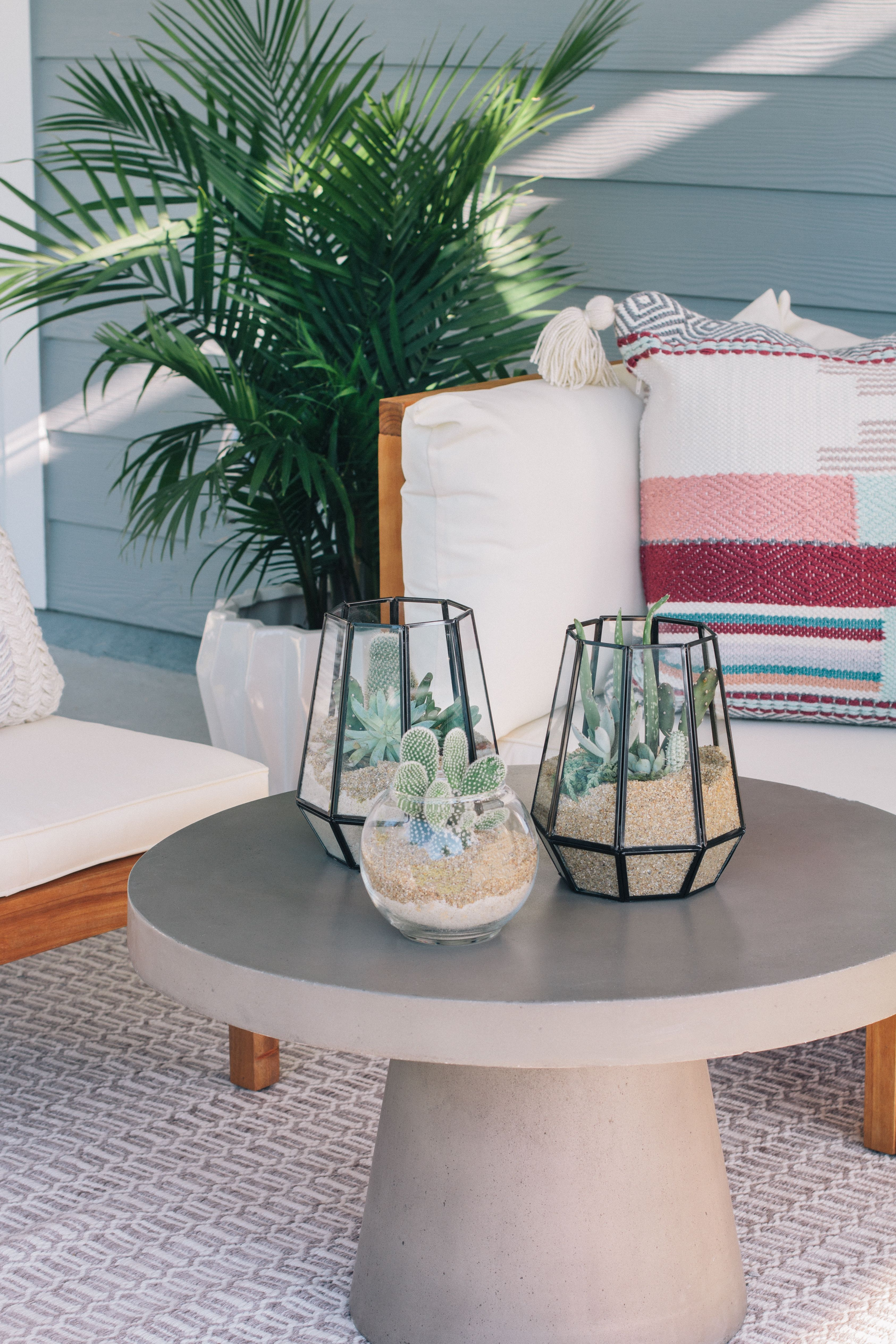 Diy Done Outdoor Terrarium For Your Patio Hunker Diy Outdoor Candle Holders Diy Patio Table Outdoor Candle Holders [ 5056 x 3371 Pixel ]