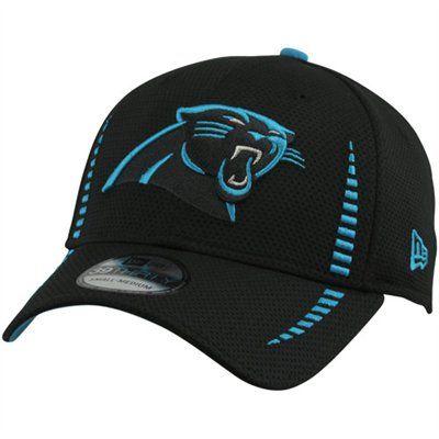 New Era Carolina Panthers 2012 Training 39THIRTY Flex Hat - Black   FanaticsWishlist 02a0d33baf0