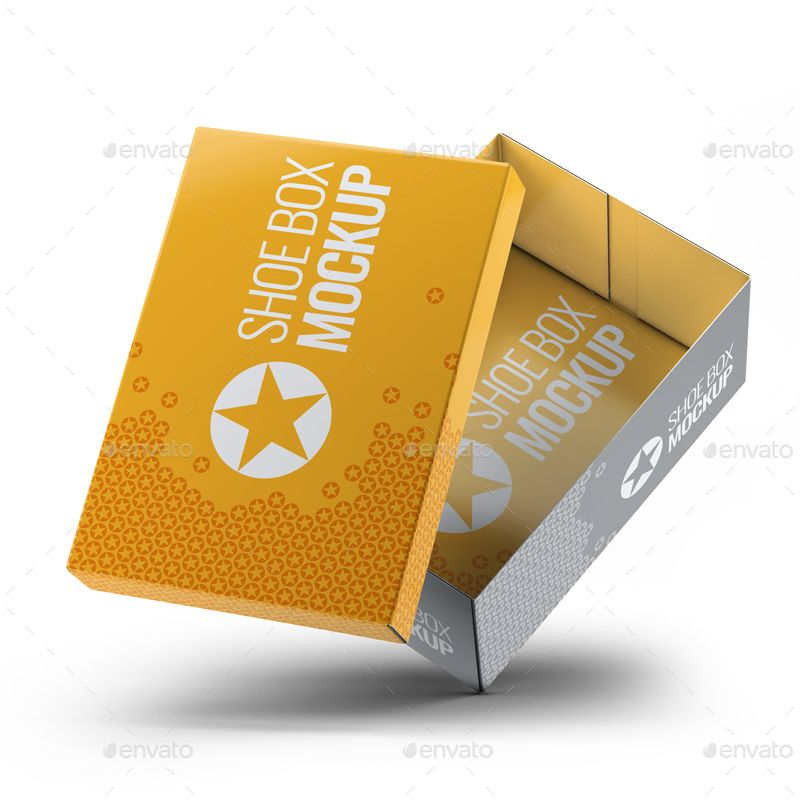Download Shoe Boxes Mock Up Bundle Affiliate Boxes Aff Shoe Bundle Mock Box Mockup Shoe Box Presentation Templates