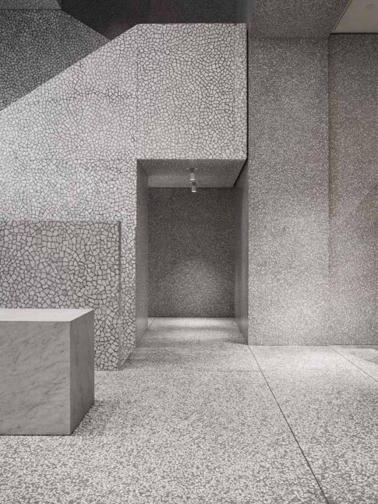 Natural stone and terrazzo - David Chipperfield - Valentino Store ...
