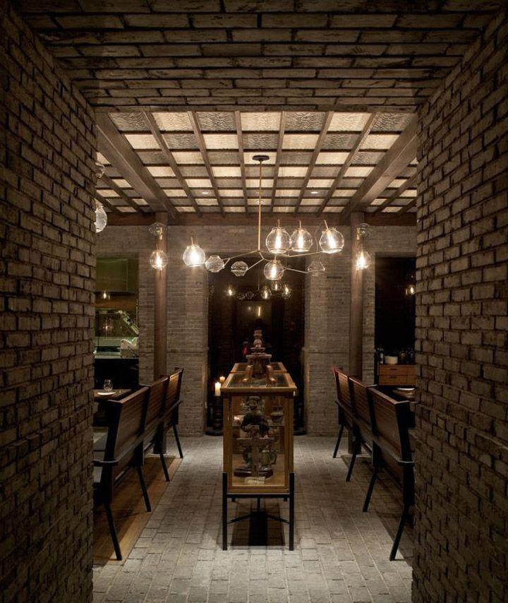 Capo restaurant shanghai neri hu design and research