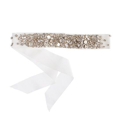 Collection rhinestoneencrusted sash jewelry accessories