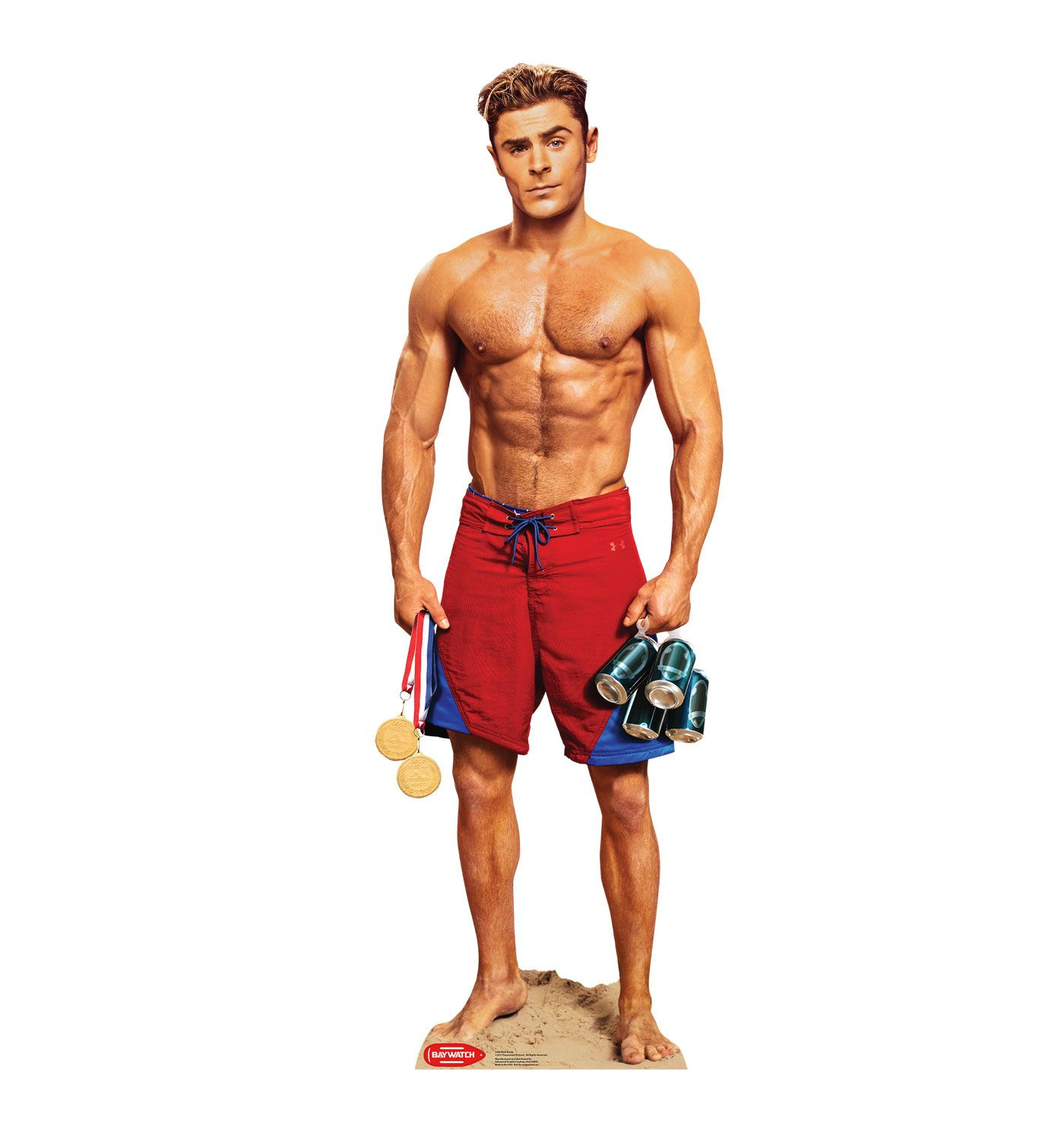 517a1fa76912 Matt Brody - Zac Efron (Baywatch Movie). Lifeguards make great eye candy  when they aren t busy running in slow motion to save drowning swimmers.