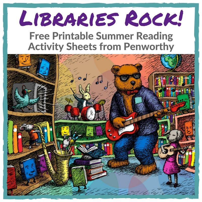 Free printable quot Libraries Rock quot