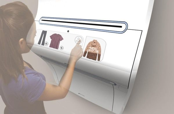 Design for 2050: Clothing Printer on Industrial Design Served  why not?§?§