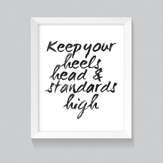 Style printable Coco Chanel quote 'Keep your by YouGrewPrintables