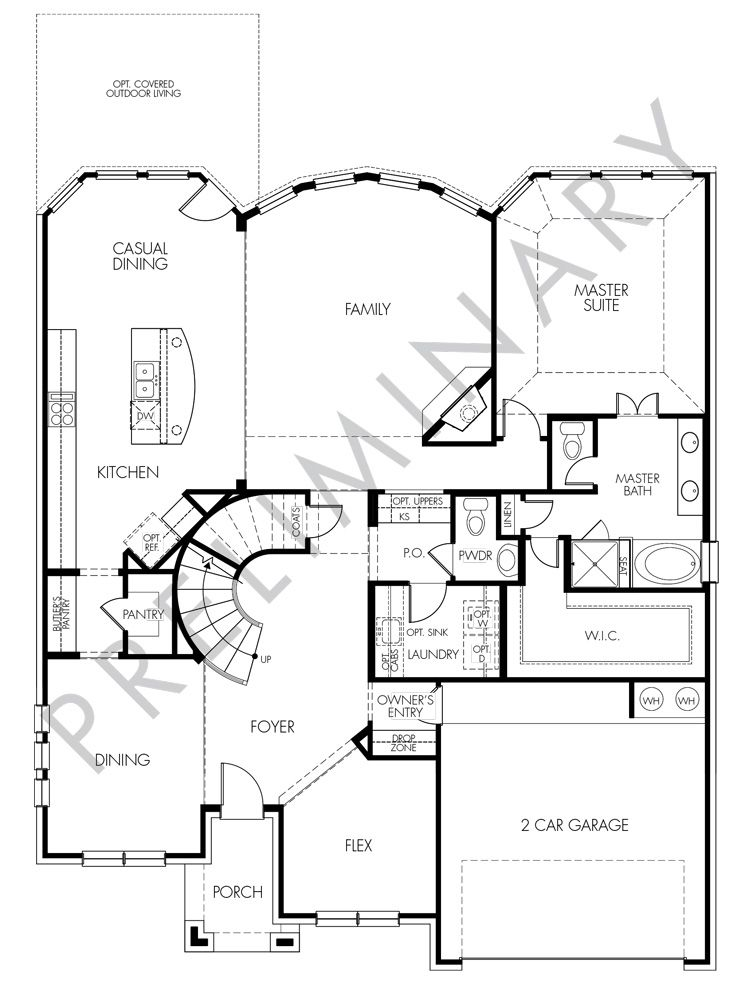 Love This Floorplan And Circular Staircase The Berkeley By Meritage Homes From 365 990 Canyon Falls Dfw Texas Price Floor Plans New Homes New House Plans