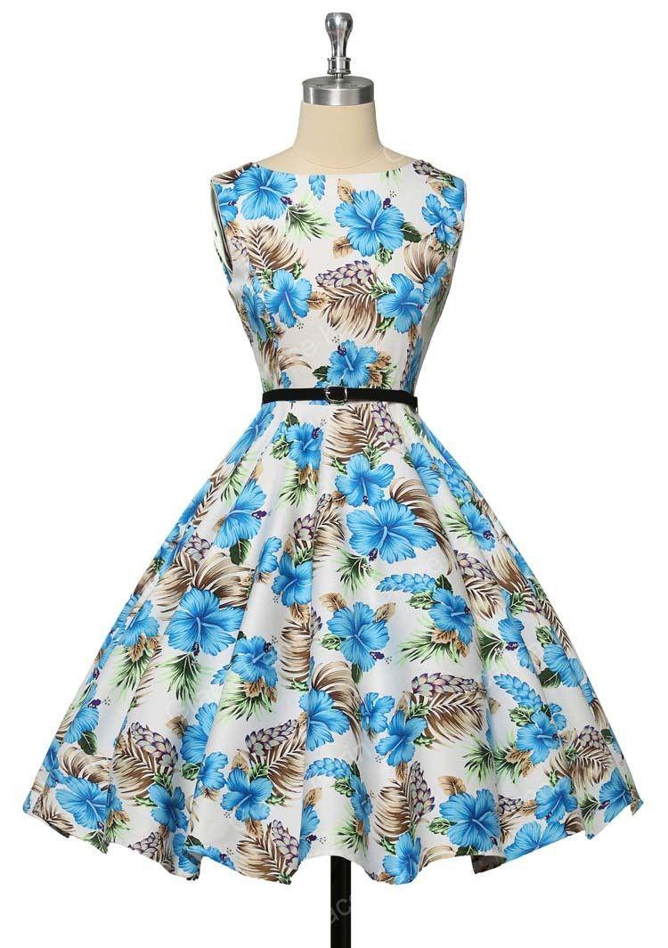 f180b50d59557 Women Summer Style Inspired Vintage clothing Retro 50s Big Swing audrey  hepburn Pinup Polka Dot plus size Woman Dresses vestidos