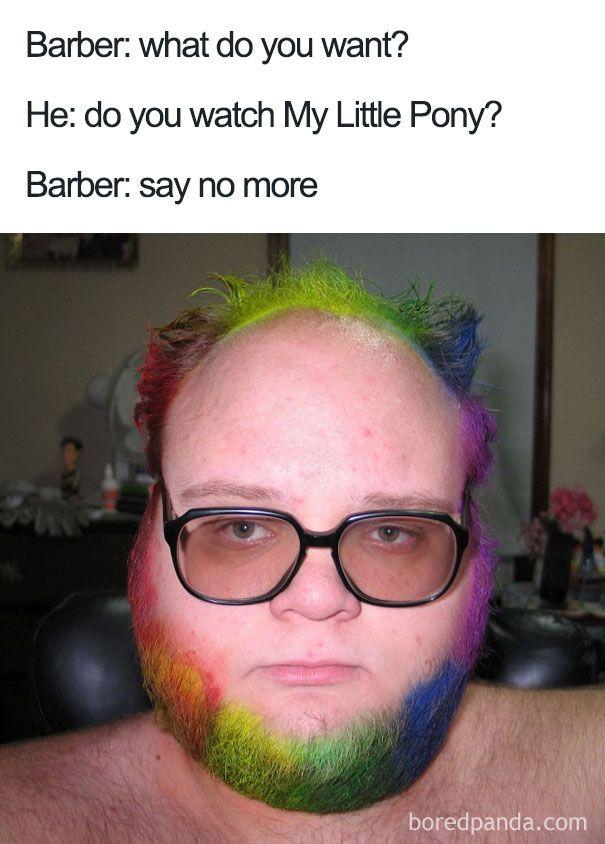 Say No More Haircut Haircut Funny New Funny Memes Barber Say No More