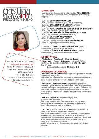 Curriculum Vitae CV / Resume Pinterest Creative portfolio - resume vitae