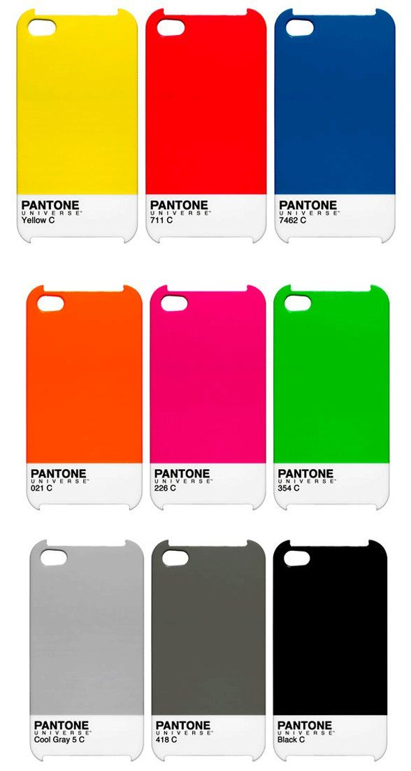 Pantone iPhone cases 2 - Style & Design