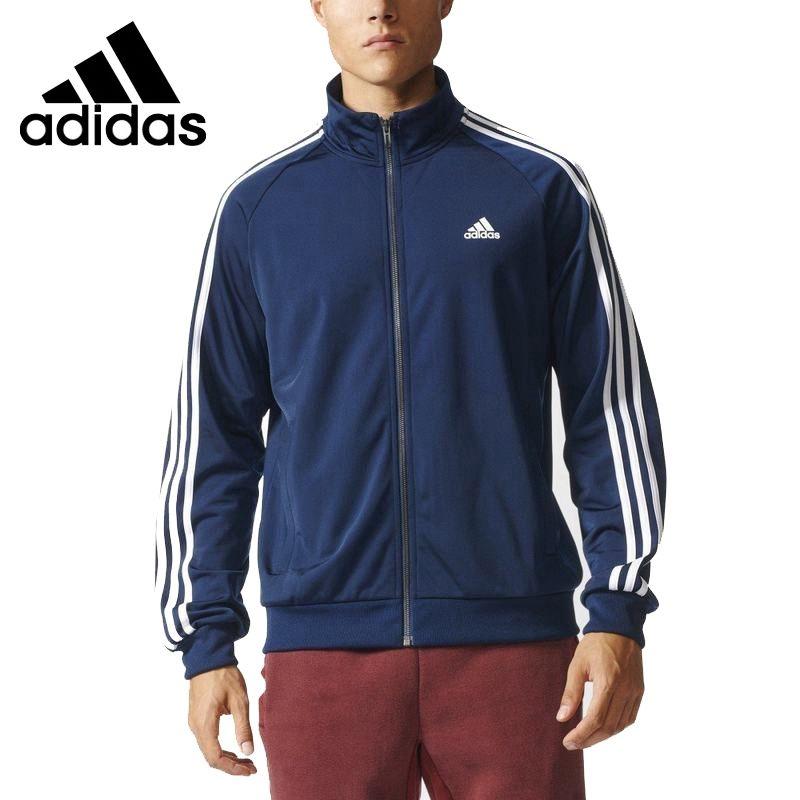 1ba64fe45a Original New Arrival 2017 Adidas ESS 3S TTOP TRI Men s jacket Sportswear