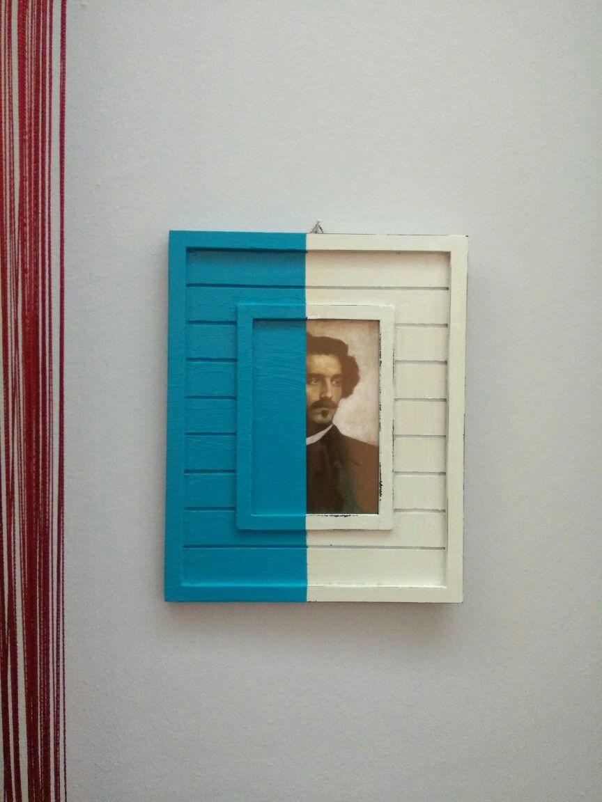 Anselm Feuerbach Portrait, framed