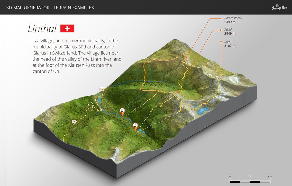 3D Map Generator - Terrain from Heightmap by Orange_Box ...  D Map Of In on