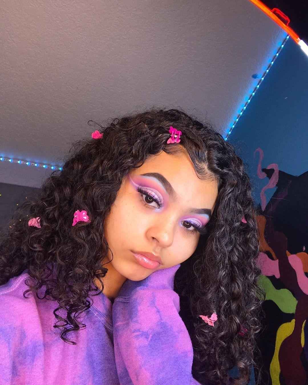 I Ll Be Back Or Not Buuut Byeeeeee In 2020 Hair Styles Curly Girl Hairstyles Aesthetic Hair
