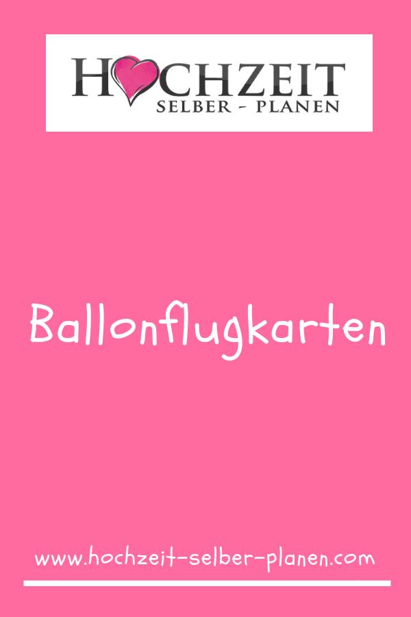 Ballonflugkarten Ballonflugkarten Ballons Hochzeit Hochzeit Shop