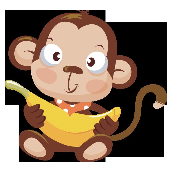 Http Www Cliparthut Com Clip Arts 1629 Baby Monkey With Banana 1629840 Png Baby Monkey Baby Clip Art Barrel Of Monkeys