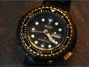 """Seiko 7549 """"tuna"""" James Bond diver's watch, """"For Your Eyes Only"""""""