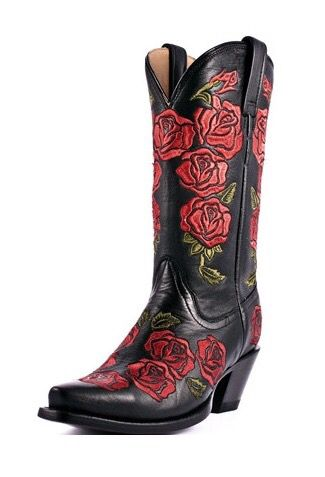Boots, Cowboy boots, Black cowgirl boots