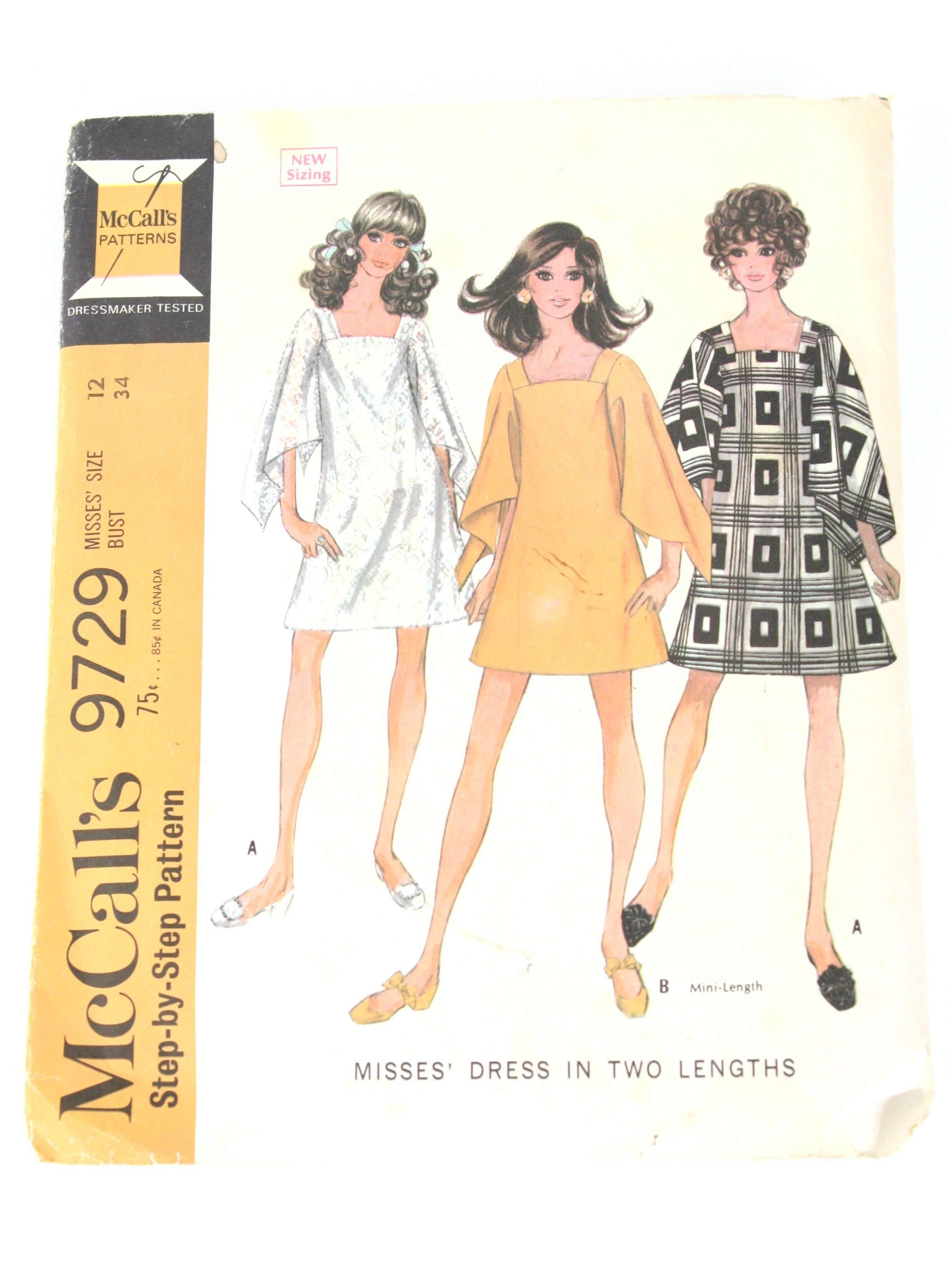 Coat /& Undergarments Fashiondol Latexture Mannequin Manikin Pattern #1058 Dress