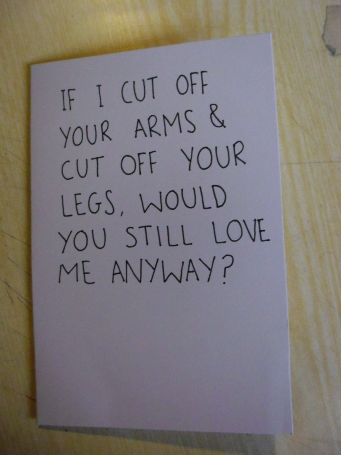 anti valentines card