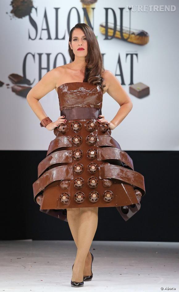 Photo robe en chocolat
